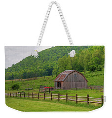 Weekender Tote Bag featuring the photograph Bath Barn 0428a by Guy Whiteley