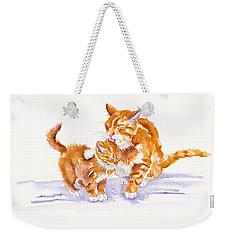 Bath Time Weekender Tote Bag