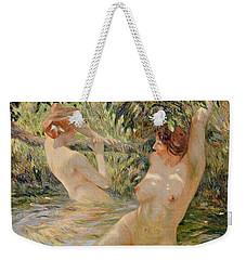 Bathers Weekender Tote Bag by Pierre Van Dijk