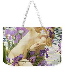 Bathing Nymphs Weekender Tote Bag by Gaston Bussiere