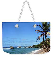 Weekender Tote Bag featuring the photograph Bathsheba, Barbados, by Kurt Van Wagner