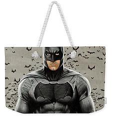 Batman Ben Affleck Weekender Tote Bag