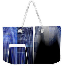 Batman In Town Weekender Tote Bag by Thibault Toussaint