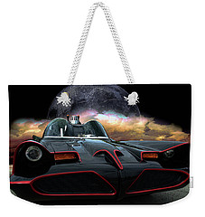 Weekender Tote Bag featuring the photograph Batmobile by Tim McCullough