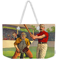 Batter Up 1895 Weekender Tote Bag