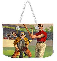 Batter Up 1895 Weekender Tote Bag by Padre Art