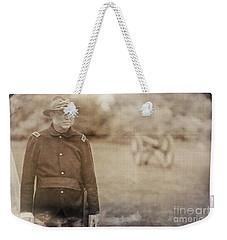 Battery D Weekender Tote Bag