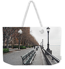 Battery Park Weekender Tote Bag by Michael Peychich