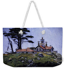 Battery Point Lighthouse Crescent City California Weekender Tote Bag