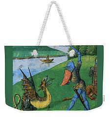 Battle Weekender Tote Bag