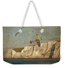 Battle Of Britain Over Dover Weekender Tote Bag