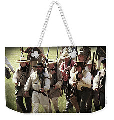 Battle Of San Jacinto Weekender Tote Bag by Kim Henderson