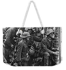 Battle Of Stalingrad  Nazi Infantry Street Fighting 1942 Weekender Tote Bag