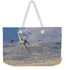Battle Of The Hawker Sea Furys Weekender Tote Bag