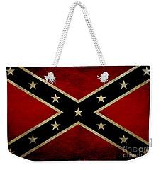 Battle Scarred Confederate Flag Weekender Tote Bag by Randy Steele