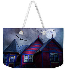 Weekender Tote Bag featuring the photograph Battle Street West by Theresa Tahara