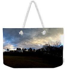 Battlefield Skies Weekender Tote Bag