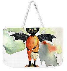 Batty Vintage Cat  Weekender Tote Bag