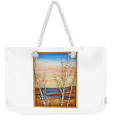 Bay Birch Weekender Tote Bag