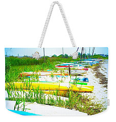Bay Break Weekender Tote Bag