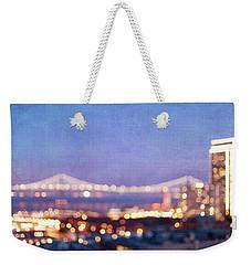 Bay Bridge Glow - San Francisco, California Weekender Tote Bag