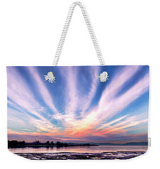 Bay Farm Island Sunrise Weekender Tote Bag