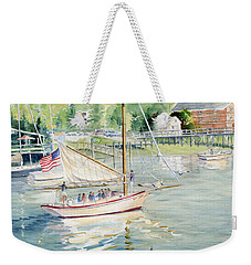 Bay Lady  Weekender Tote Bag by Melly Terpening