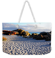 Bay Of Fires Sunrise Weekender Tote Bag