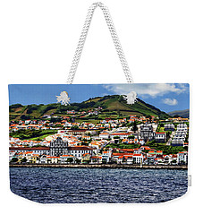 Bay Of Horta Weekender Tote Bag
