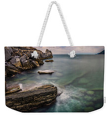 Bay Of The Gulf Of Poets Weekender Tote Bag