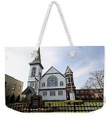 Bay Shore Methodist Episcopal Church Weekender Tote Bag