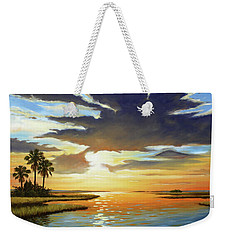 Bay Sunset Weekender Tote Bag by Rick McKinney