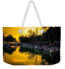 Bayfield Marina Weekender Tote Bag