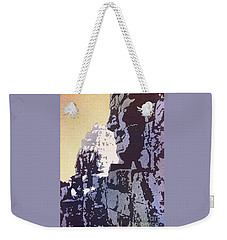 Weekender Tote Bag featuring the painting Bayon Temple- Angkor Wat, Cambodia by Ryan Fox