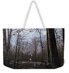 Bayou Meto Morning Weekender Tote Bag