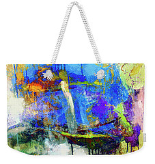 Weekender Tote Bag featuring the painting Bayou Teche by Dominic Piperata