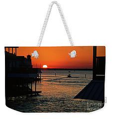Bayou Vista Sunset Weekender Tote Bag