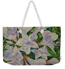 Bayside Oleander Weekender Tote Bag