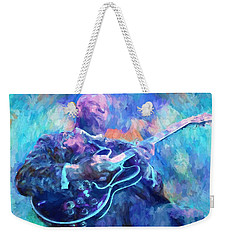 Bb King Weekender Tote Bag by Dan Sproul