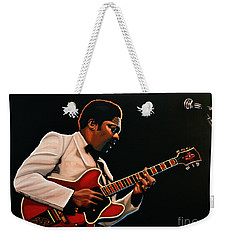 B. B. King Weekender Tote Bag by Paul Meijering