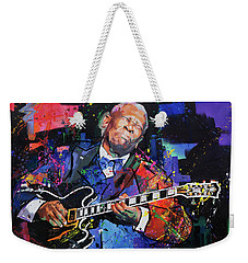 Bb King Weekender Tote Bag by Richard Day