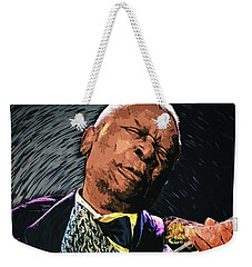 Bb King Weekender Tote Bag