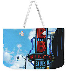 Bb Kings Weekender Tote Bag