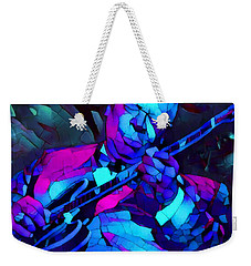 Bb Sings The Blues Weekender Tote Bag by Dan Sproul