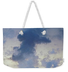Blue Bunny Cloud  Weekender Tote Bag