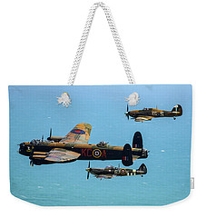 Bbmf Eastbourne Beachy Head Flypast Weekender Tote Bag