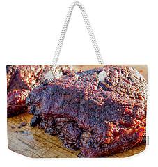 Bbq Beef 2 Weekender Tote Bag