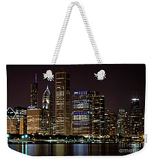 Weekender Tote Bag featuring the photograph Bcbsil by Andrea Silies