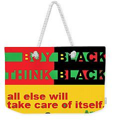 Be Black Rbg Weekender Tote Bag