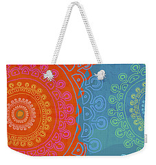 Be Exactly Who You Are Weekender Tote Bag